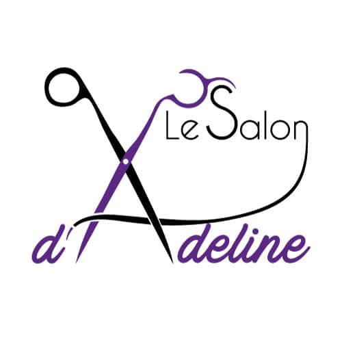 Création logo Salon de coiffure d'Adeline à  Haut Mauco
