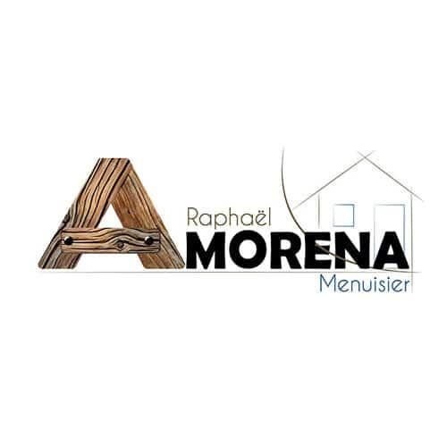Création logo Amorena Menuisier à Haut Mauco