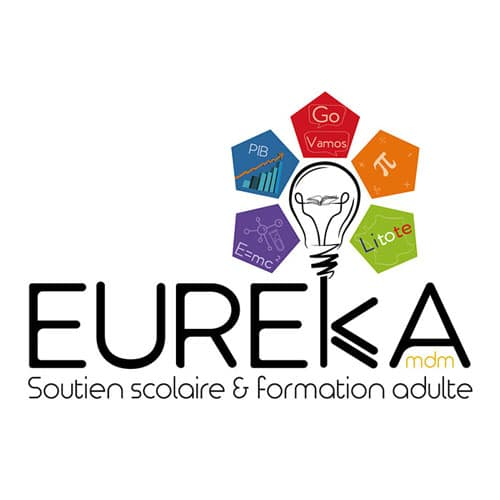 Refonte logo Eureka - Centre de formation à Mont de Marsan