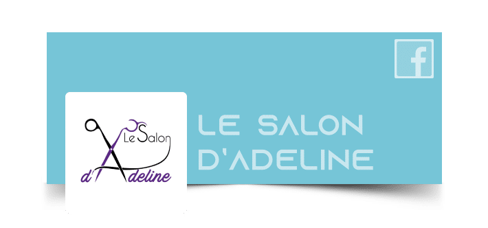 Page Facebook - Salon Adeline