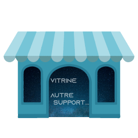 Vitrine / autre support