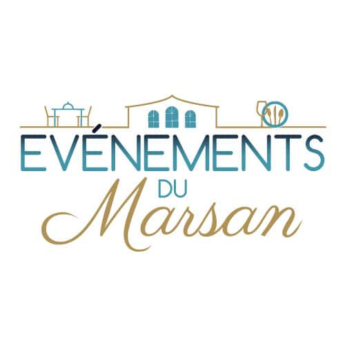 Création logo Evénements du Marsan à Saint Avit