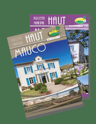 Conception du journal de Haut Mauco depuis 2017