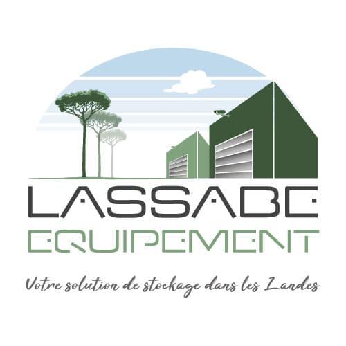 Création logo Lassabe Equipement à Hinx