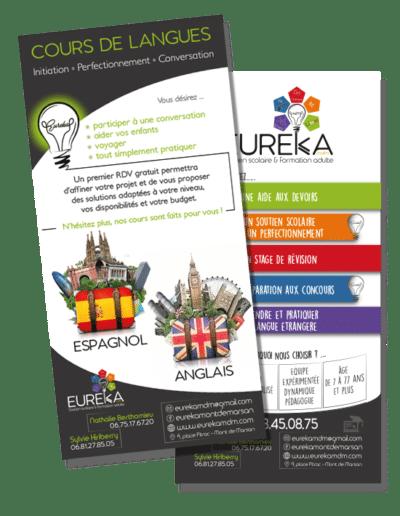 Flyer Eureka présentation et annonce cours