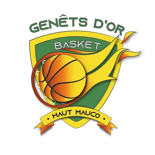 Refonte logo Genêts d'or Basket Haut Mauco