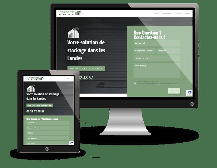 LASSABE Equipement - Création de site