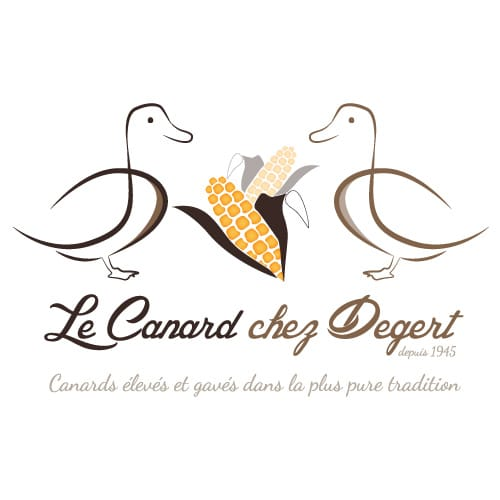 Logo le Canard chez Degert