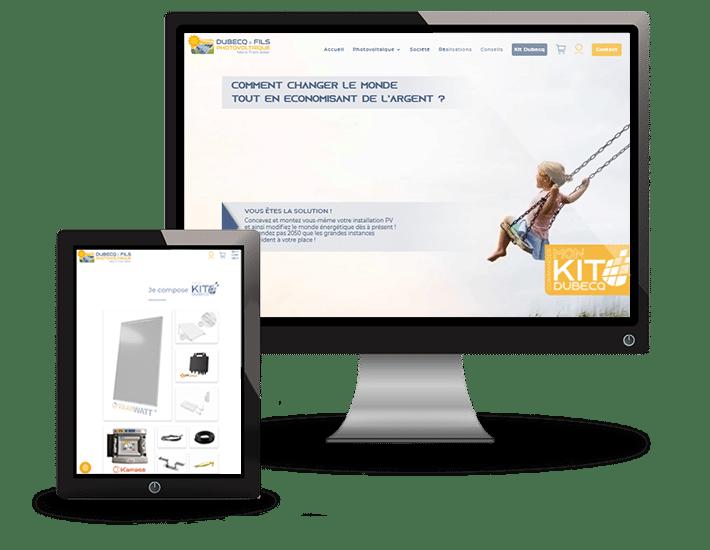 DUBECQ et Fils Site Ecommerce
